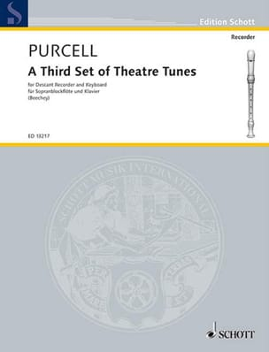 Henry Purcell - A Third Set Of Theatre Tunes - Partition - di-arezzo.fr