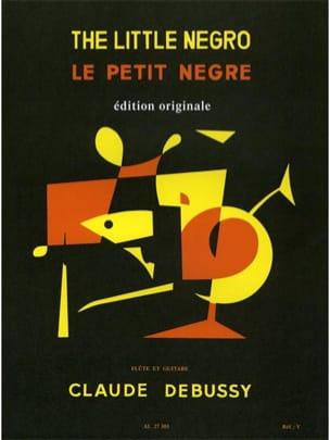 DEBUSSY - Petit nègre - Flûte guitare - Partition - di-arezzo.fr