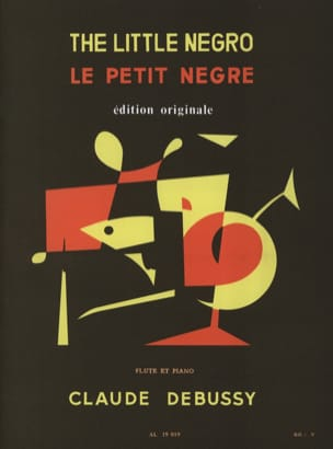 DEBUSSY - The Little Nègre - Sheet Music - di-arezzo.co.uk