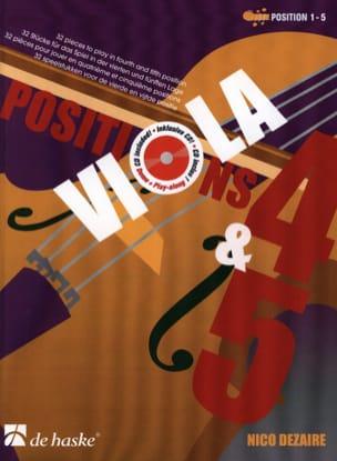 Nico Dezaire - Positions 4 - 5 - Alto - Sheet Music - di-arezzo.com