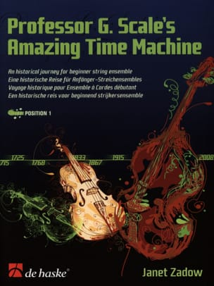 Professor G.Scale's Amazing Time Machine Janet Zadow laflutedepan