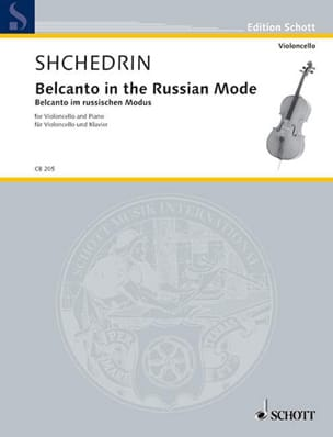 Belcanto In The Russian Mode Rodion Shchedrin Partition laflutedepan