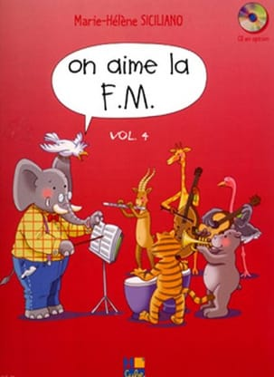 SICILIANO - On Aime la FM - Volume 4 - 楽譜 - di-arezzo.jp