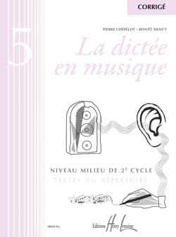 Pierre CHEPELOV et Benoit MENUT - The Dictation in Music - Answer Key - Volume 5 - Sheet Music - di-arezzo.co.uk