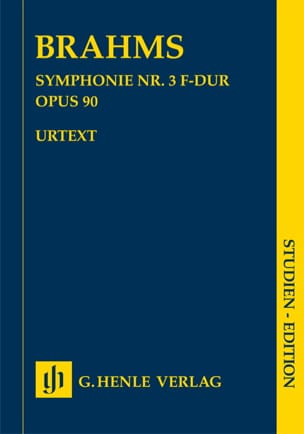 BRAHMS - Symphony No. 3 in F major op. 90 - Sheet Music - di-arezzo.com