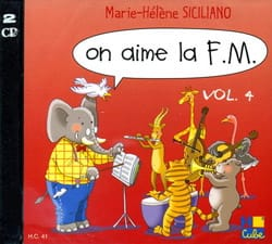 SICILIANO - CD - On Aime la FM Volume 4 - Partition - di-arezzo.fr