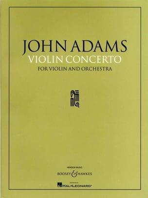 John Adams - Concerto Violon et orchestre - Partition - di-arezzo.fr
