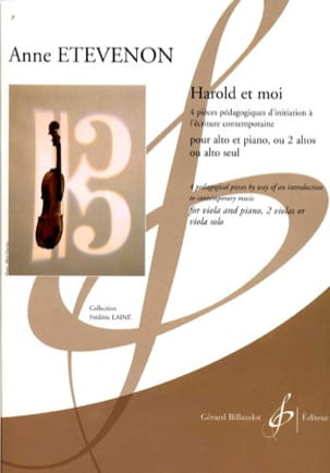 Anne Etevenon - Harold and Me - Sheet Music - di-arezzo.com