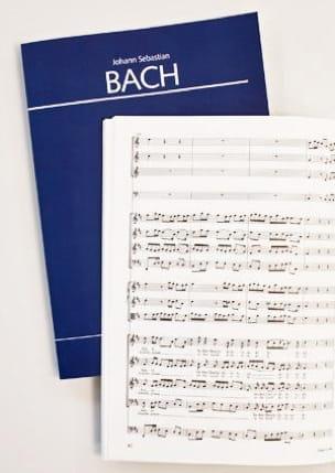 BACH - Cantate Himmelfahrtsoratorium BWV 11 - Partition - di-arezzo.fr