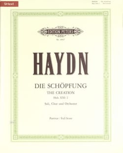 Die Schöpfung - Joseph Haydn - Partition - laflutedepan.com