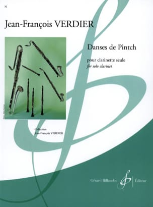 Jean-François Verdier - Pintch dances - Sheet Music - di-arezzo.co.uk
