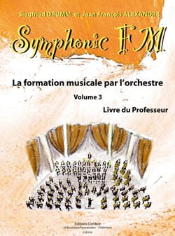 Symphonic FM Volume 3 - Livre du Professeur - laflutedepan.com