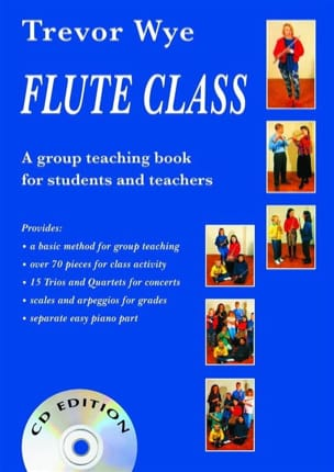 Flute Class With CD Trevor Wye Partition laflutedepan