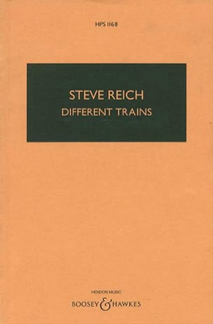 Different Trains - Steve Reich - Partition - laflutedepan.com