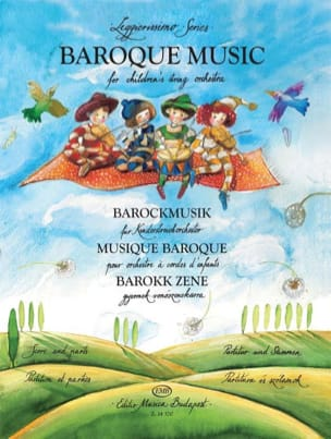 Baroque Music for Children Vol 1 - score & parts laflutedepan