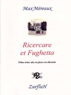 Max Méreaux - Ricercare and Fughetta - Sheet Music - di-arezzo.co.uk