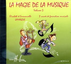 Elisabeth LAMARQUE et Marie-José GOUDARD - CD - The Magic Of Music Volume 3 - Sheet Music - di-arezzo.com