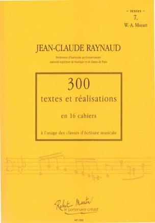 Jean-Claude Raynaud - 300 Texts and Achievements - Volume 7: Texts - Sheet Music - di-arezzo.co.uk