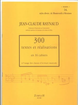 Jean-Claude Raynaud - 300 Texts and Achievements - Volume 16: Texts - Sheet Music - di-arezzo.co.uk