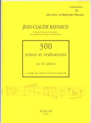 Jean-Claude Raynaud - 300 Texts and Achievements - Volume 16: Achievements - Sheet Music - di-arezzo.co.uk