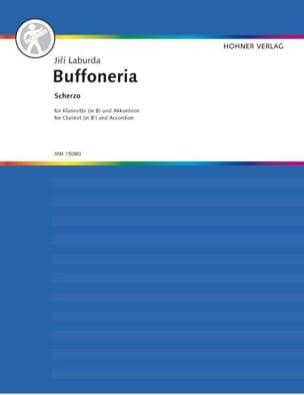 Buffoneria Scherzo - Jiri Laburda - Partition - laflutedepan.com