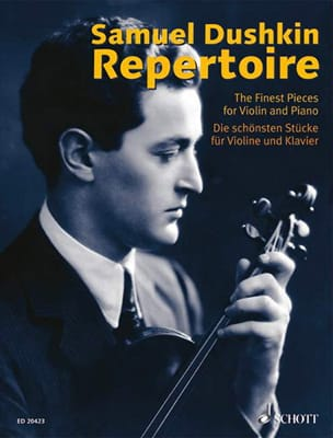 Samuel Dushkin - Repertoire - The Best Pieces For Violin - Sheet Music - di-arezzo.co.uk