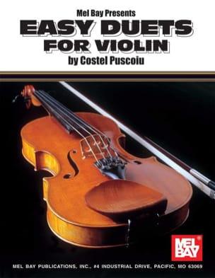 Puscoiu Costel - Easy Duets For Violin - Partition - di-arezzo.fr