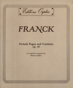 César Franck - Prelude, Fugue and Variations Op 18 - Sheet Music - di-arezzo.co.uk