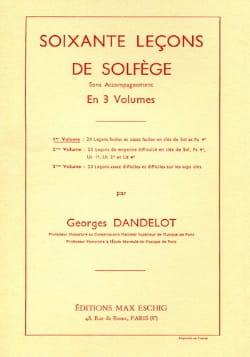 60 Leçons de Solfège - Volume 1 S/A - laflutedepan.com