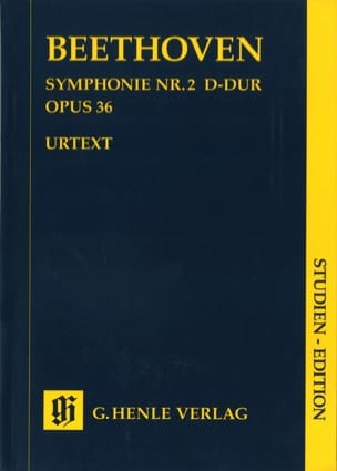 Symphonie N° 2 Opus 36 En Ré Maj. BEETHOVEN Partition laflutedepan