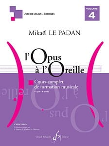 Mikaël LE PADAN - Opus to the Ear - Volume 4 - Sheet Music - di-arezzo.com