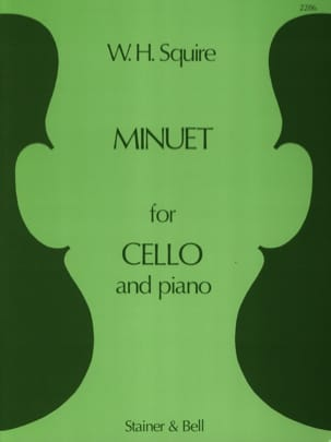 Squire W. H. - Minuet Op 19 N ° 3 - Sheet Music - di-arezzo.co.uk