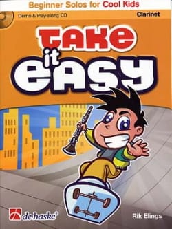 Take It Easy Clarinet - Rik Elings - Partition - laflutedepan.com