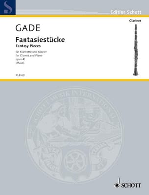 Niels Wilhelm Gade - Fantasiestücke Op.43 - Sheet Music - di-arezzo.co.uk