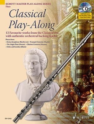 - Classical Play-Along For Flute CD - Partition - di-arezzo.fr