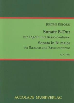 Jerome Besozzi - Sonata B-Dur - Sheet Music - di-arezzo.com