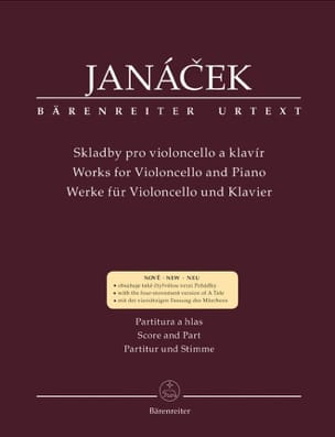 Works for Violoncello and piano Leos Janacek Partition laflutedepan