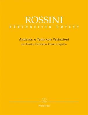 Andante E Tema Con Variazioni - Gioacchino Rossini - laflutedepan.com