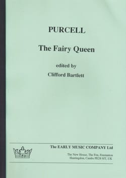 The Fairy Queen - Score - PURCELL - Partition - laflutedepan.com