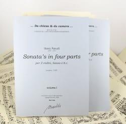 Ten Sonata's in four parts (Volume 1-2) - laflutedepan.com