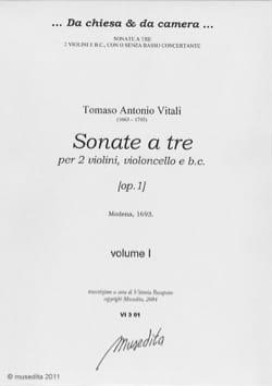 Sonate a tre [op. 1] Volume 1-2 - laflutedepan.com