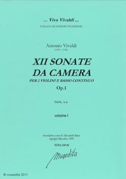Sonate da camera op. 1 VIVALDI Partition Trios - laflutedepan