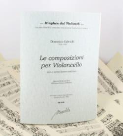Domenico Gabrielli - La composizioni por violonchelo - Partitura - di-arezzo.es