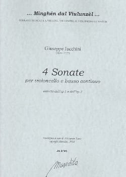 Giuseppe Maria Jacchini - 4 Sonates (extr. op. 1 et op. 3) - Partition - di-arezzo.fr
