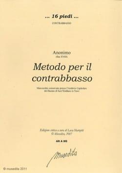 - Metodo per he contrabasso - Sheet Music - di-arezzo.co.uk