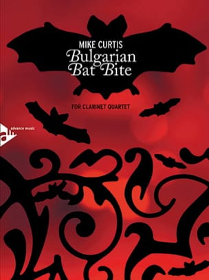 Bulgarian Bat Bite - 4 clarinettes score & parts laflutedepan