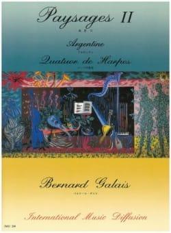 Paysages 2 - Argentine - Bernard Galais - Partition - laflutedepan.com