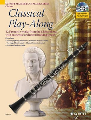 - Classical Play-Along For Clarinet - Sheet Music - di-arezzo.com