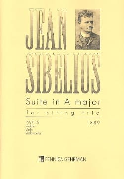 Jean Sibelius - Suite in A Maj for String Trio - Partition - di-arezzo.ch