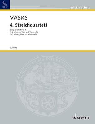 4ème Quatuor Peteris Vasks Partition Quatuors - laflutedepan